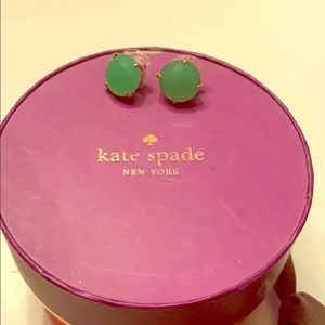 Late Spade Green Studs
